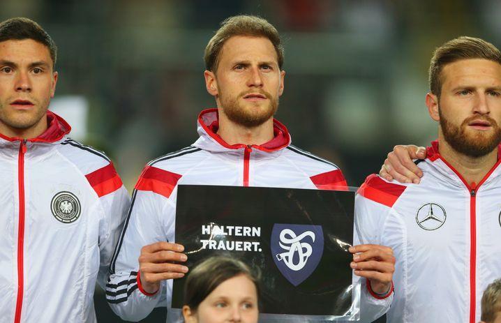 """Nationalspieler Höwdes (M.): """"Haltern trauert"""""""