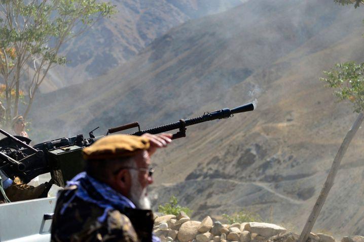 Widerstandskämpfer im Pandschirtal