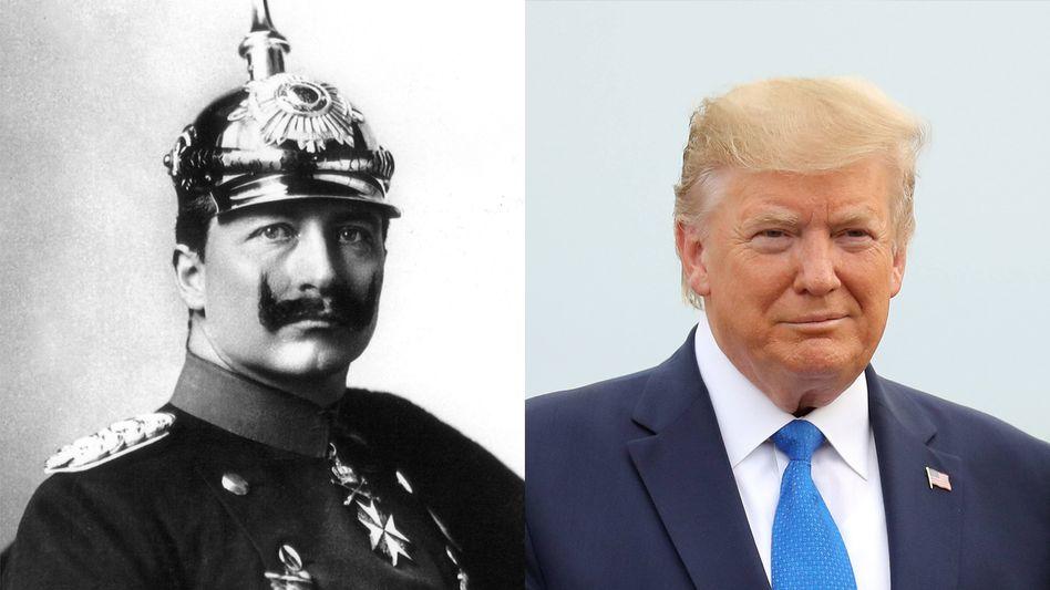 Wilhelm II., Donald Trump