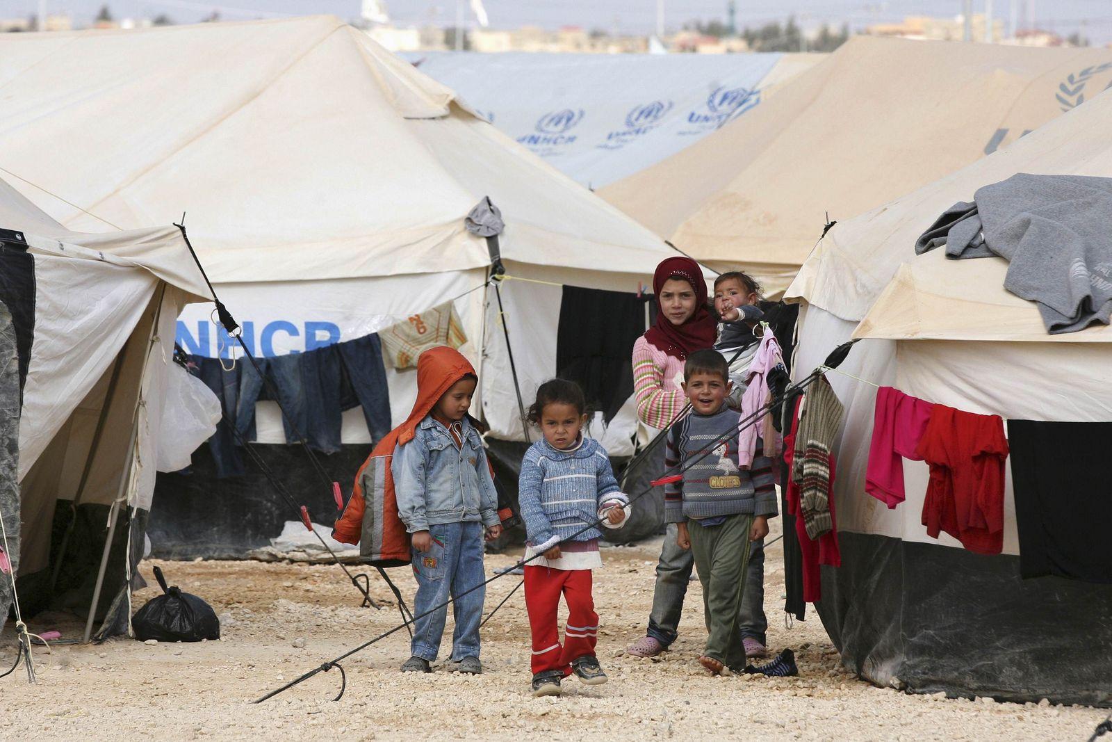 Jordanien, syrische Flüchtlinge