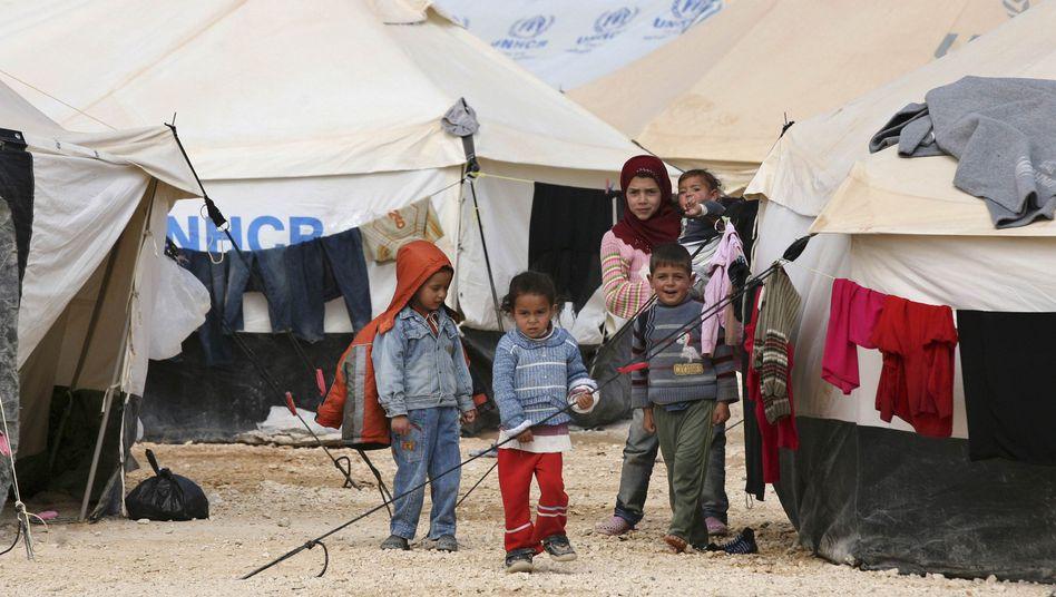 Flüchtlingslager: Seit 2012 hat Schweden 14.700 Syrer aufgenommen