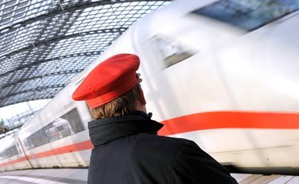 A Deutsche Bahn employee: More than 1,000 national railway workers and executives are believed to have been spied on.