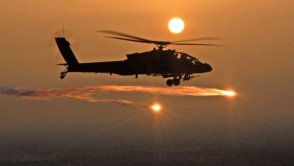 Kampfhubschrauber (im Irak): Schwer umkämpfter Naher Osten