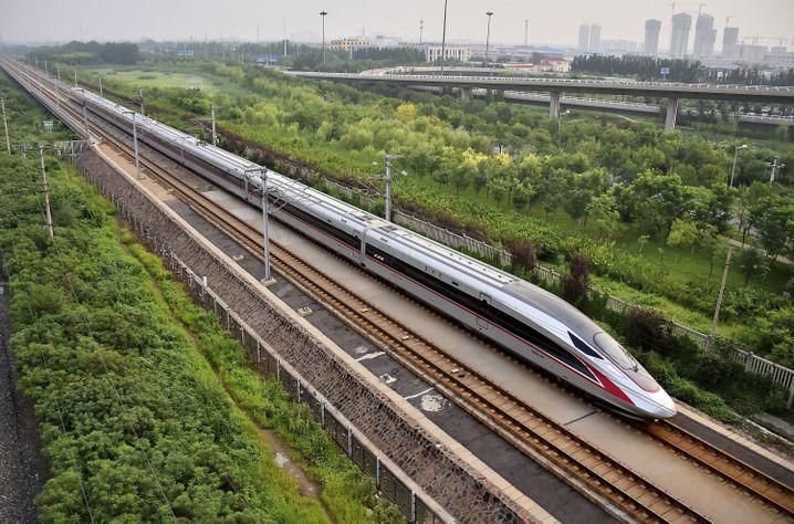 Hochgeschwindigkeitszug in China