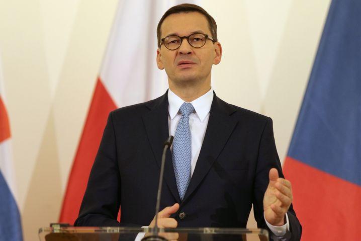 """Premierminister Morawiecki: """"Für Polen sehr schädlich"""""""