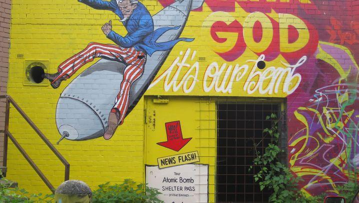Berlin: Kunst am Bau - die Graffiti vom Teufelsberg