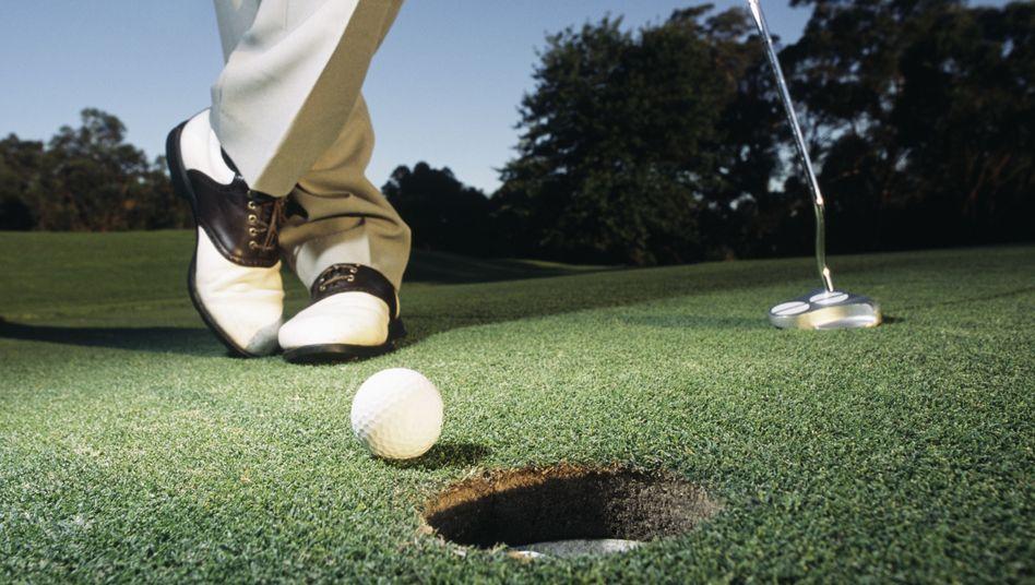 Golfer: Der Mehrheit geht es nicht um Sport