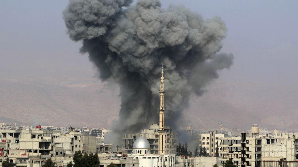 Explosion nahe Damaskus