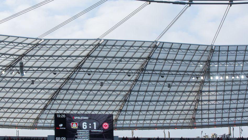 Das Ergebnis in Leverkusen ließ eine Verfehlung der Sportart vermuten.