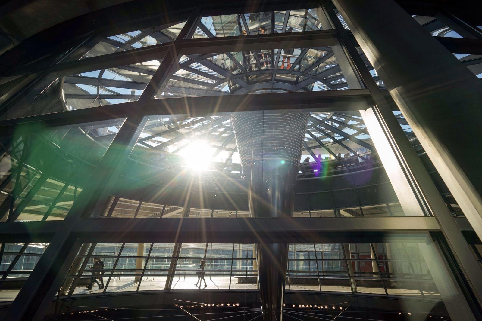 Deutscher Bundestag - Kuppel, Berlin