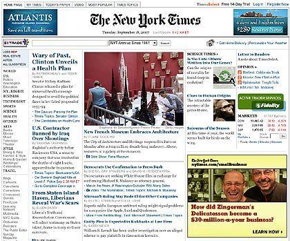 Nytimes.com: Bald komplett kostenlos