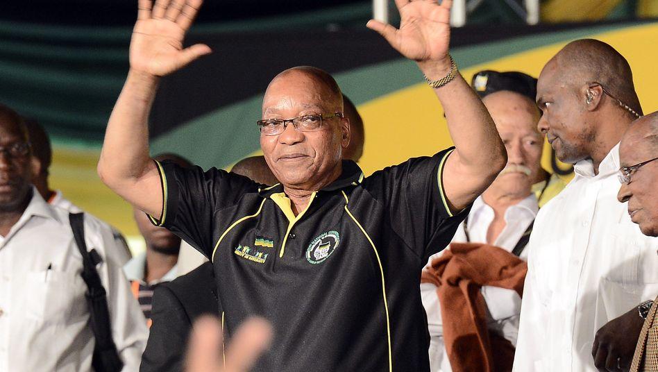 Präsident Jacob Zuma: Viele Skandale überlebt