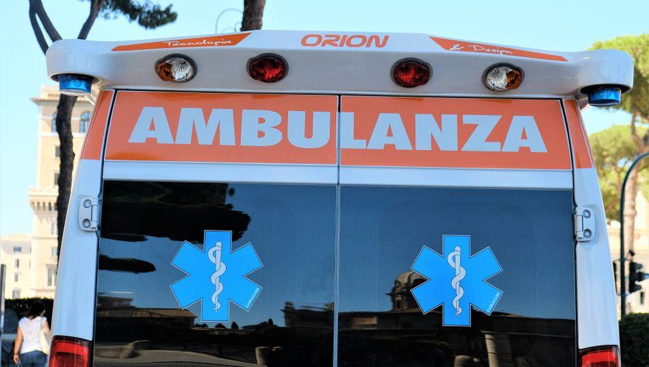 Rettungswagen in Italien (Symbolbild)