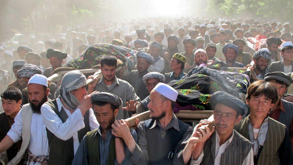 Nordafghanistan: Zehn Tote bei Krawallen vor Bundeswehr-Camp