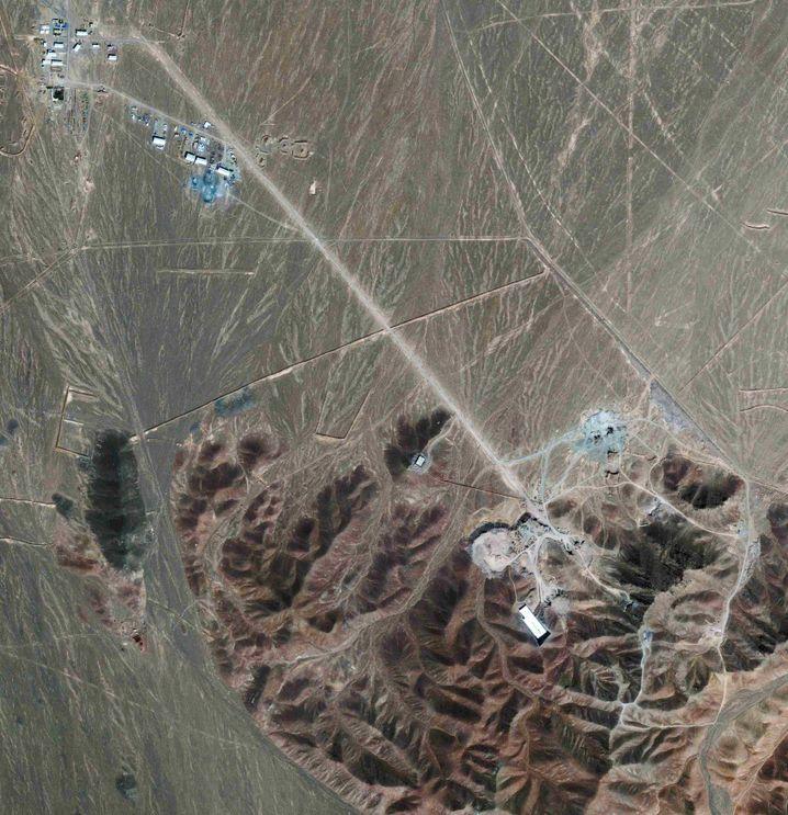 Atomanlage in Fordo (Satellitenaufnahme, Archiv)