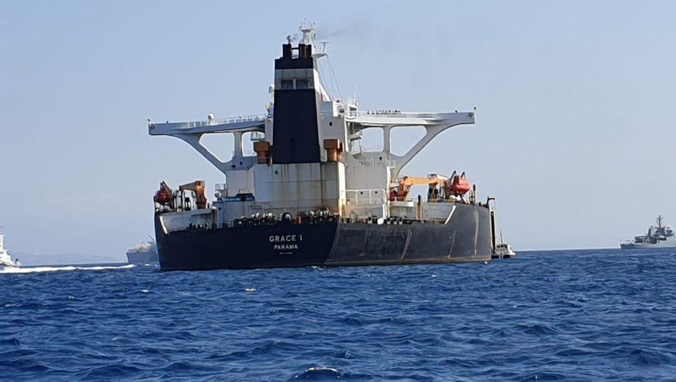 Supertanker vor Gibraltar: Verdacht auf illegale Öllieferungen nach Syrien