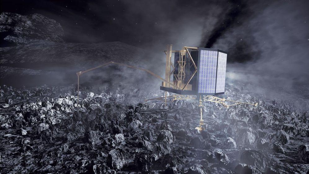 """Sonde """"Philae"""": Landung auf dem Kometen geglückt"""