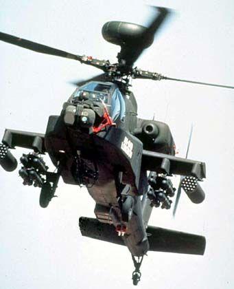 """""""Apache""""- Kampfhubschrauber mit """"Hellfire""""-Raketen: Treibstoff vom Coli-Bakterium"""