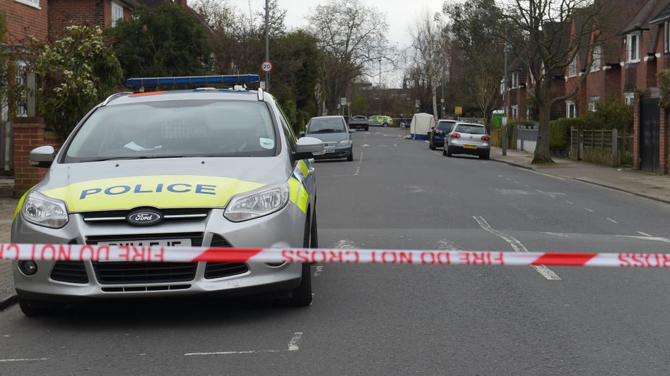 Mordfallermittlung in London