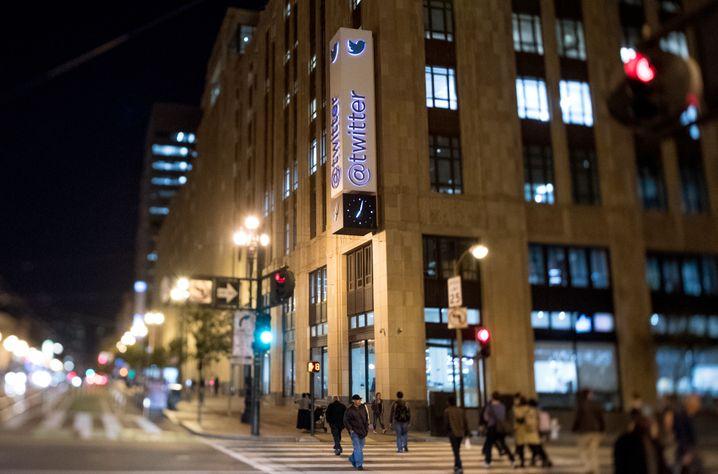 Market Street in San Francisco: Twitter hat seine Angestellten dazu aufgerufen, möglichst von zu Hause zu arbeiten
