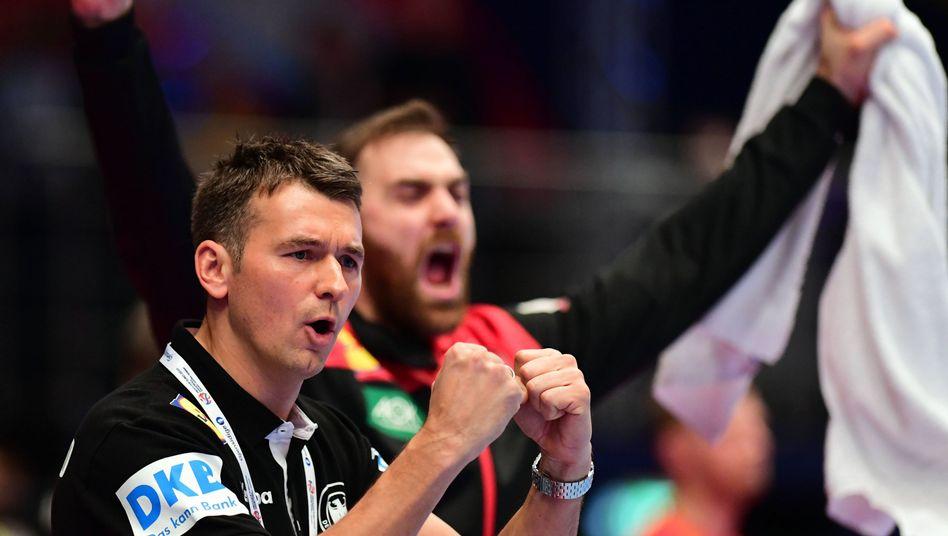 Handball-Sieg über Österreich: Ein Spiel für den Trainer