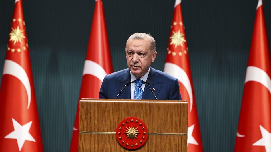 Der türkische Präsident Recep Tayyip Erdoğan