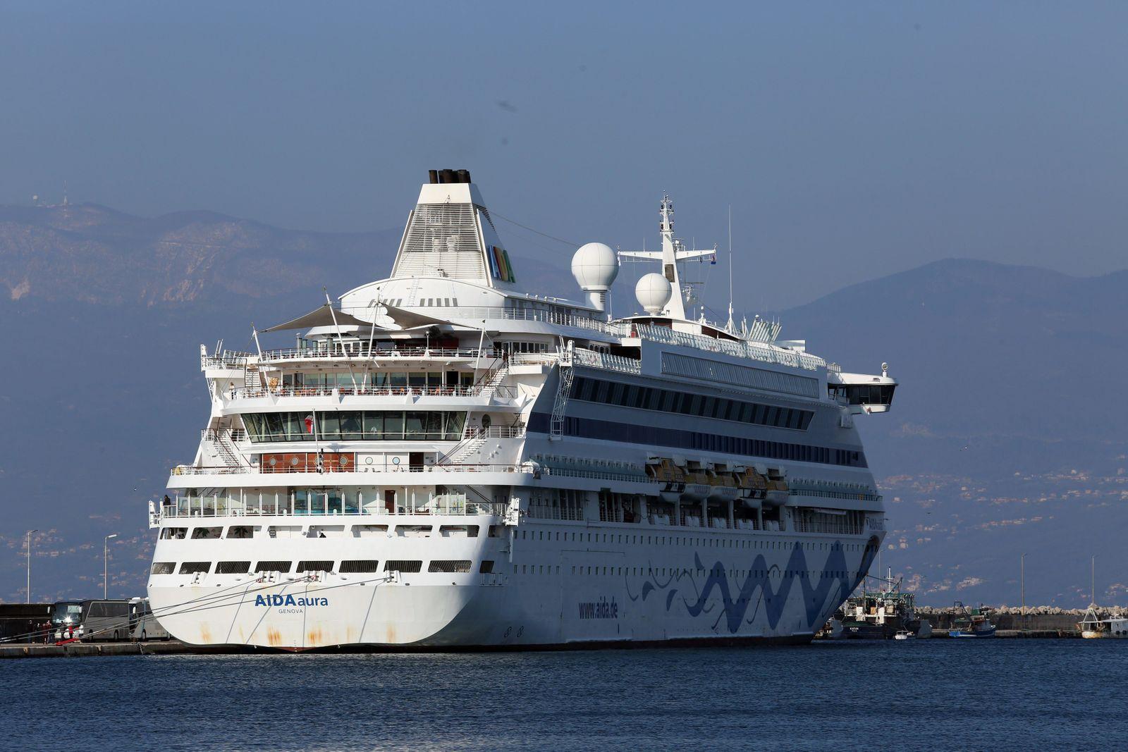 Aida Aura cruise ship - Rijeka, Croatia