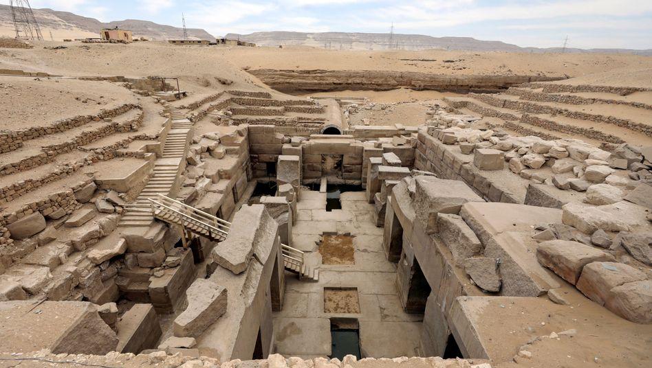 Totentempel: Abydos war eines der wichtigsten Kultstätten des alten Ägypten