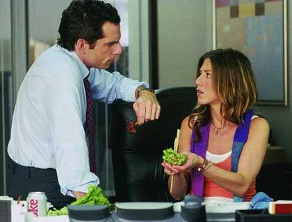 Situationskomik mit Stiller und Aniston: Großstadtliebe schlägt auf den Magen