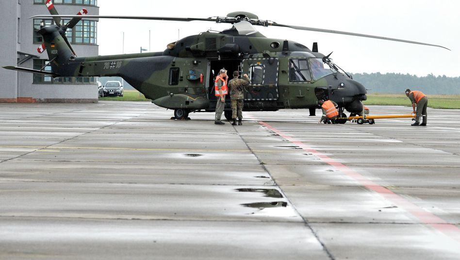 """Transporthubschrauber NH90: """"Vorerst nicht einsetzen"""""""