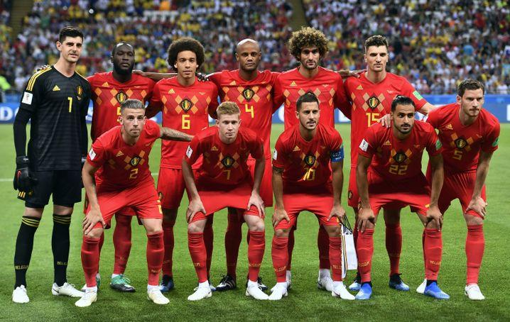 Belgiens Startelf gegen Brasilien