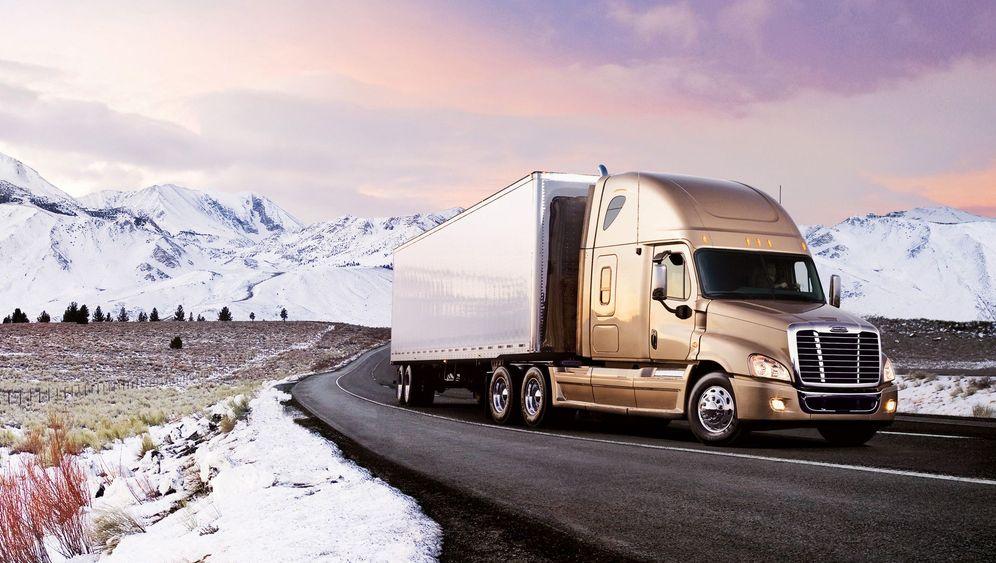 Warum Lastwagen In Deutschland Und Den Usa Unterschiedlich