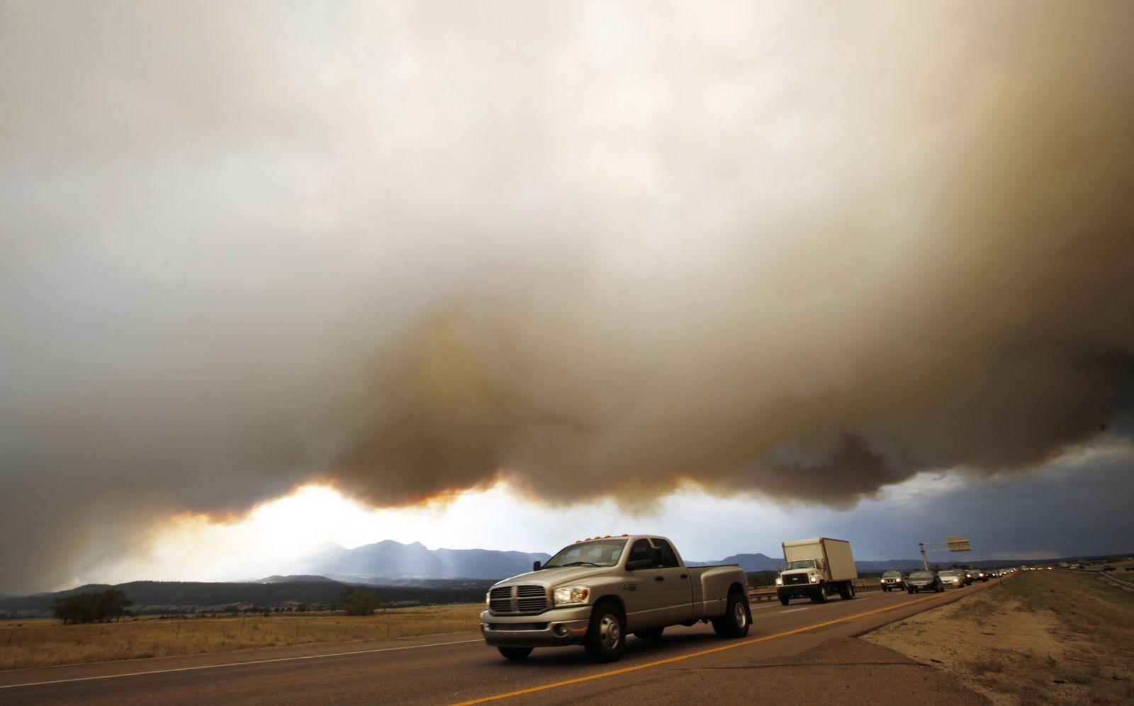 BdT Waldbrände USA