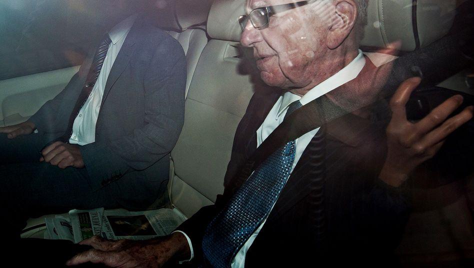 Rupert Murdoch in London: Spekulationen über den Rückzug des Patriarchen