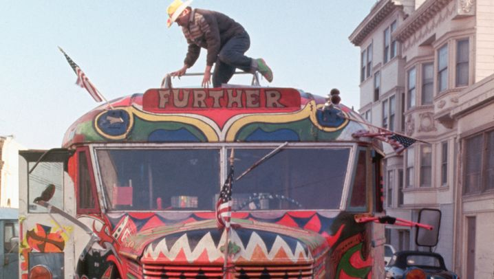 Unterwegs mit den Merry Pranksters: Bewußtseinserweiterung im Schulbus