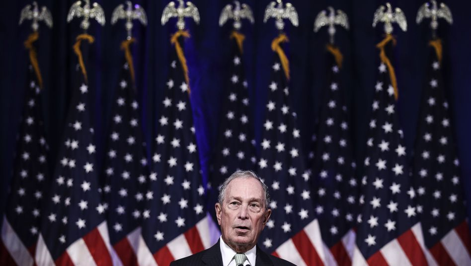 Michael Bloomberg, gescheiterter Präsidentschaftskandidat, unterstützt nun seinen ehemaligen Konkurrenten Joe Biden (Archivbild)