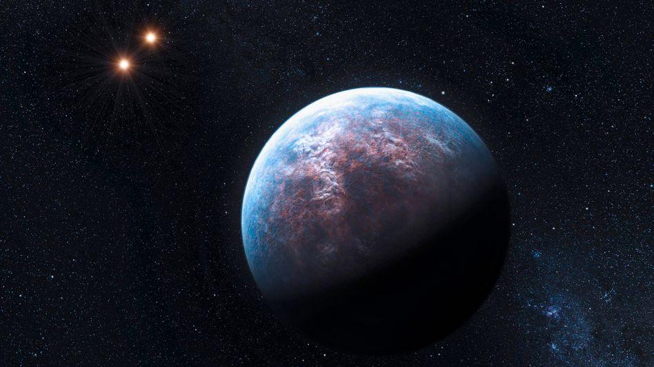Super-Erde (Computergrafik): Mehr Planeten als Sterne in der Milchstraße?