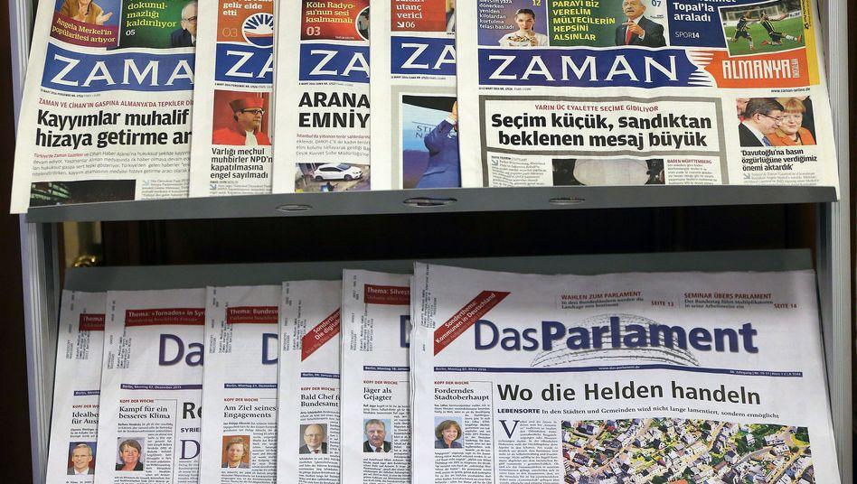 """Tageszeitung """"Zaman"""""""