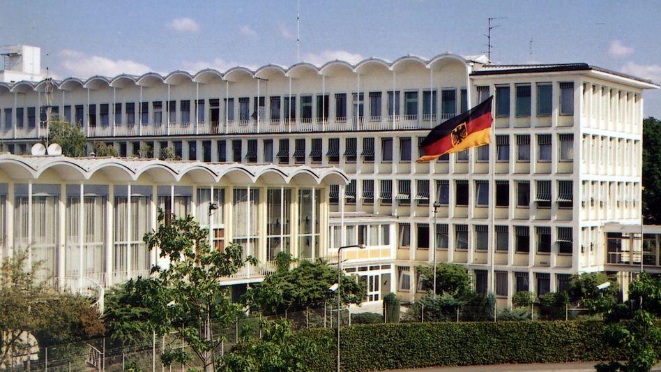 BKA-Hauptgebäude in Wiesbaden (Archivbild): Hilfe für das kirgisische Regime