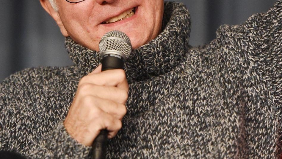 Harald Schmidt (hier im Januar 2015): Neue Rolle als Nachfolger Reich-Ranickis?