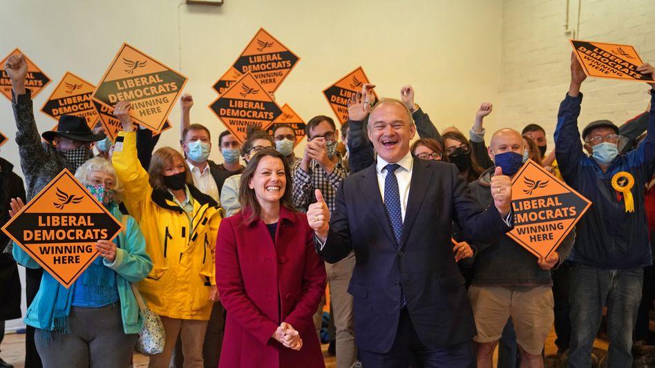 Wahlsiegerin Sarah Green von den Liberaldemokraten
