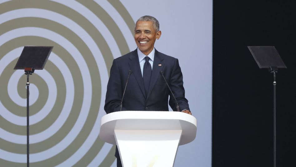 Barack Obama in Südafrika