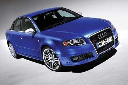 Audi RS4: Ab Herbst in Limousinenform