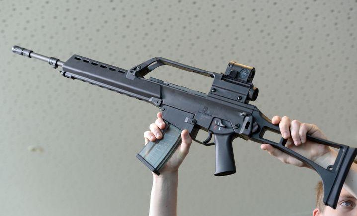 Ein Sturmgewehr vom Typ G36