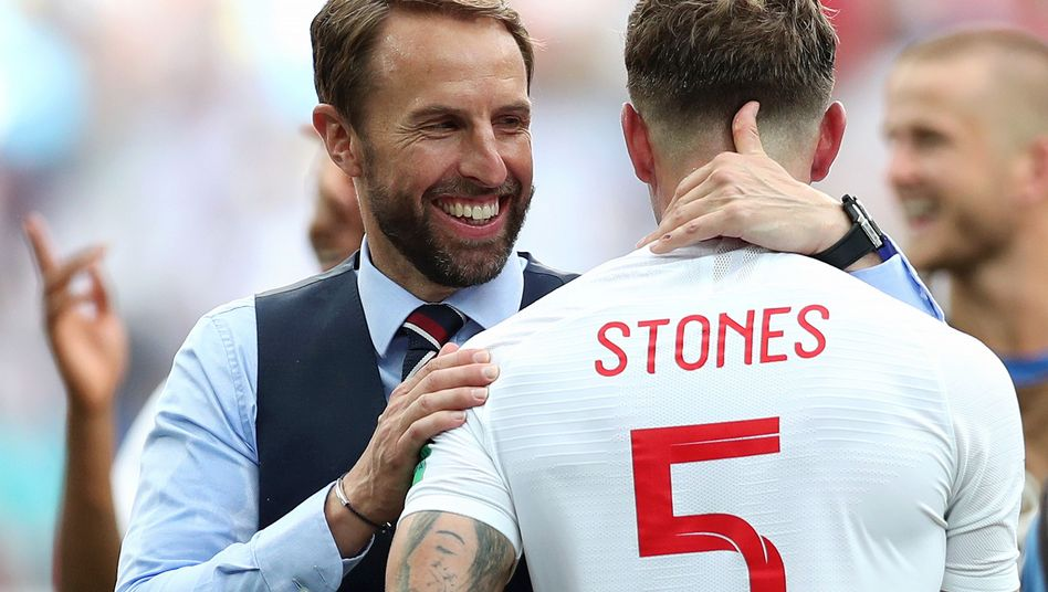 England-Trainer Southgate