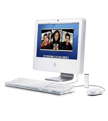 Ebenfalls vorgestellt: Neuer Apple iMac G5