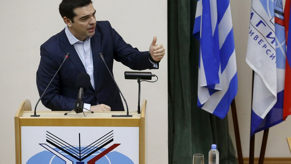 Griechischer Regierungschef Tsipras: Bekenntnis zu Europa