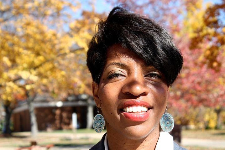 Ausgebremste Kandidatin: Leslie Broadnax