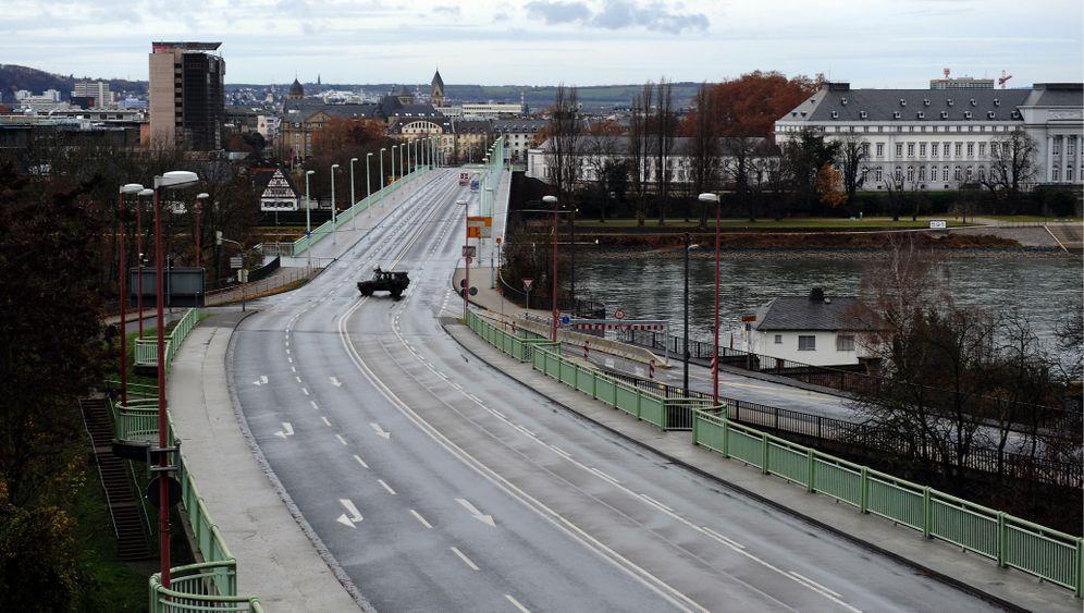 Koblenz: US-Fliegerbombe erfolgreich entschärft