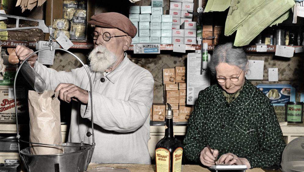 Wie die Zeit vergeht mit...: Einkaufen